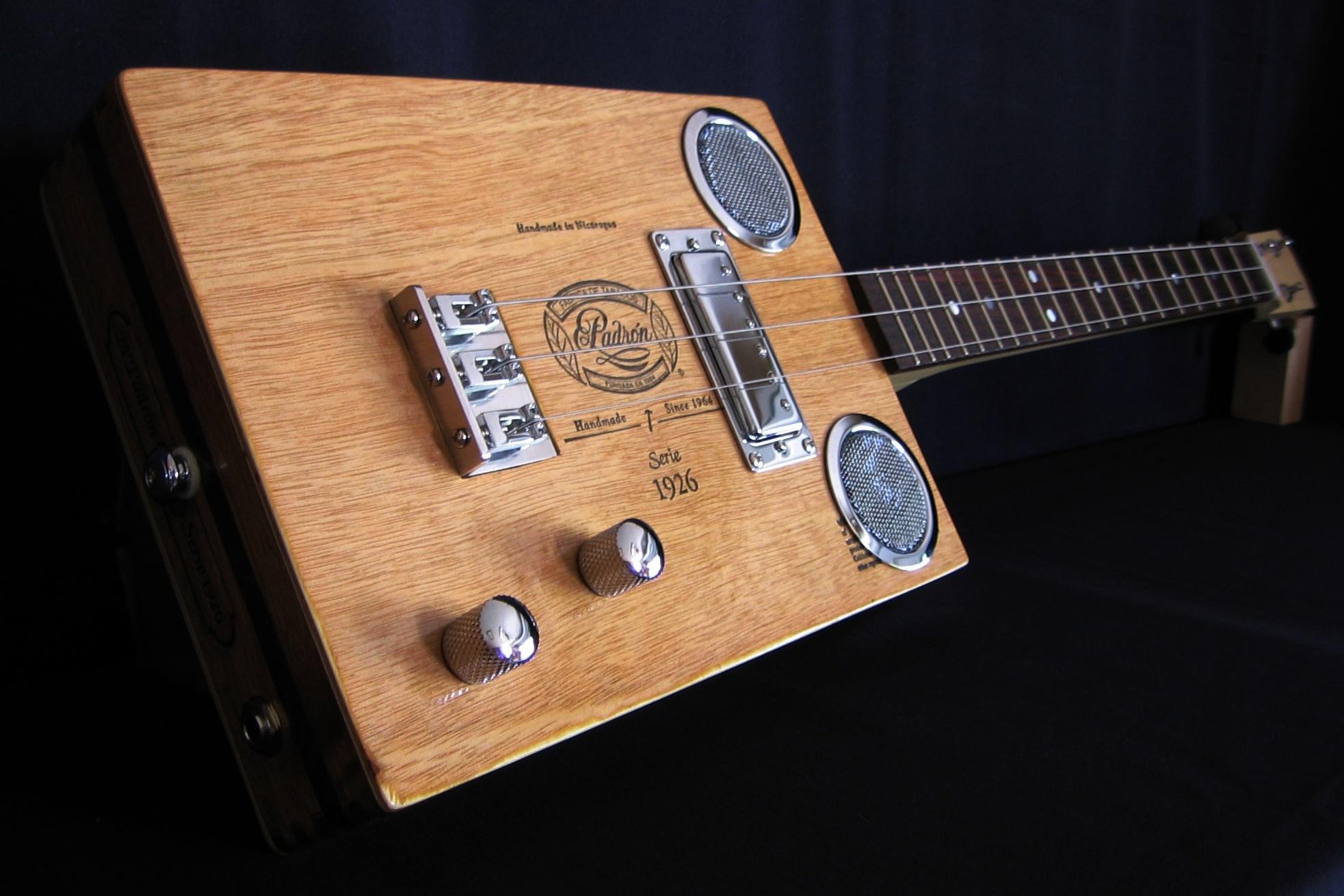 bigler cigar box guitars gallery 2. Black Bedroom Furniture Sets. Home Design Ideas